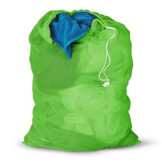 Honey Can Do Dark Green Mesh Laundry Bag 2-pack