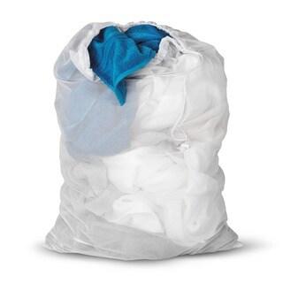 Honey Can Do White Mesh Laundry Bag 2-pack