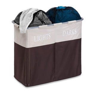 Honey Can Do Dual Compartment Light/ Dark Hamper