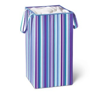 Honey-Can-Do HMP-01134 Rectangular Collapsible Hamper with Handles