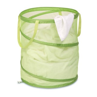 Honey Can Do Large Lime Green Mesh Pop Open Hamper