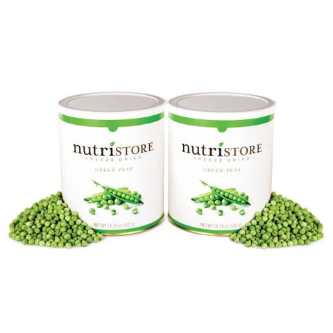 Nutristore Freeze-dried Peas 2-pack