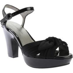 Women's Bandolino Maromisa Sandal Black/Black Fabric