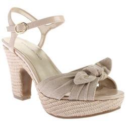 Women's Bandolino Maromisa Sandal Medium Pink/Medium Pink Fabric