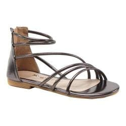 Women's Luichiny Been Seen Flat Pewter Imi Leather