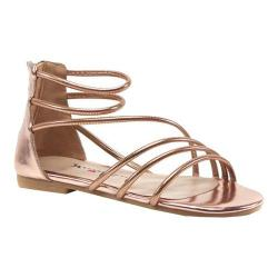 Women's Luichiny Been Seen Flat Rose Gold Imi Leather