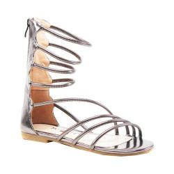 Women's Luichiny Better Look Gladiator Sandal Silver Imi Leather