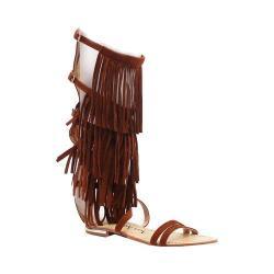 Women's Luichiny Caught Me Gladiator Sandal Cognac Imi Suede