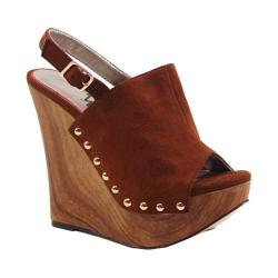 Women's Luichiny Moon Struck Wedge Whiskey Imi Suede