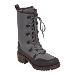 Women's Lucky Brand Alascan Lace Up Boot Brindle Nylon Fabric