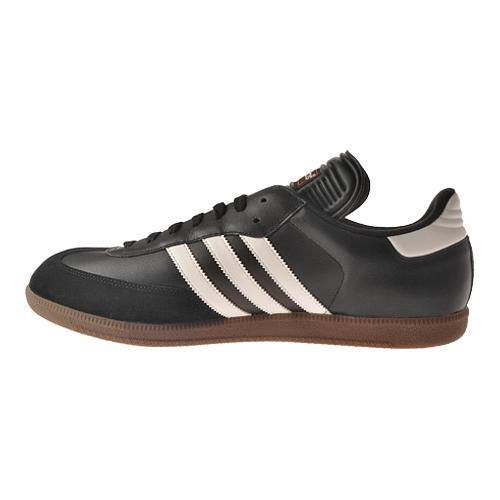 portable Vegetation Hearing impaired  Shop Men's adidas Samba Classic Black/Running White - Overstock - 11780076