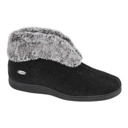 Women's Acorn Chinchilla Bootie II Black