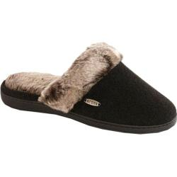 Women's Acorn Chinchilla Scuff Black