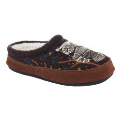 Women's Acorn Forest Mule Chocolate