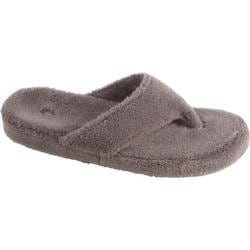 Women's Acorn New Spa Thong Grey