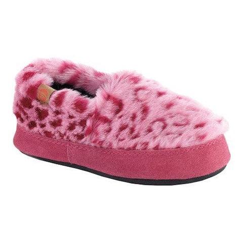 Children's Acorn Moc Pink Ocelot