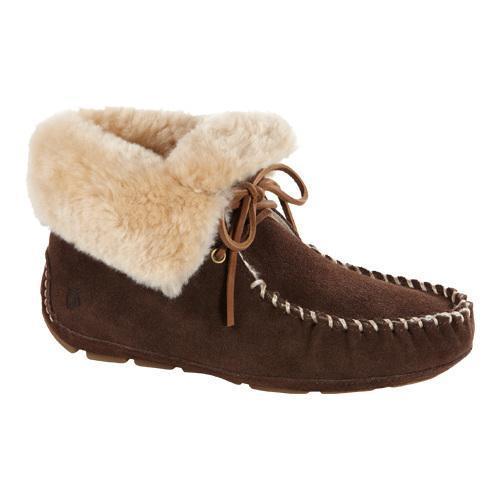 752f47806c0 Shop Women s Acorn Sheepskin Moxie Boot Dark Chocolate Suede - Free  Shipping Today - Overstock.com - 11784035