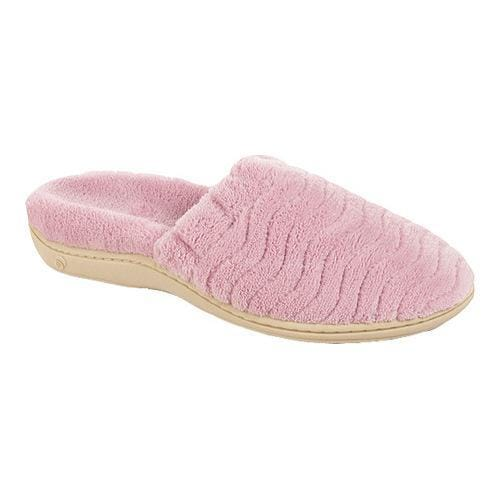 Women 39 S Acorn Spa Support Scuff Orchid Free Shipping Today 18694692