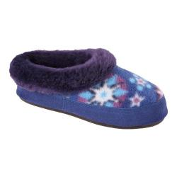 Children's Acorn Hopscotch Mule Snowflake Royal Fleece