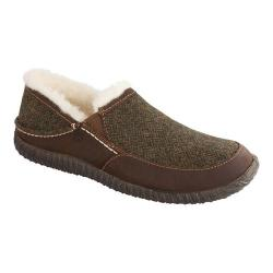 Men's Acorn Rambler Moc Olive Wool Tweed