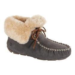 Women's Acorn Sheepskin Moxie Boot Stone Suede