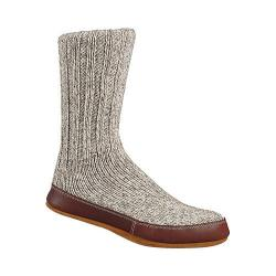 Acorn Slipper Sock Grey Ragg Wool