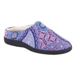 Women's Acorn Talara Mule Purple Paisley Wool