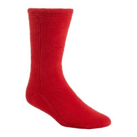 Acorn Versa Fit Socks Red Fleece