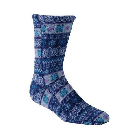 Acorn Versa Fit Socks Icelandic Blue Fleece