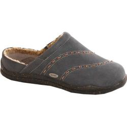 Women's Acorn Wearabout Beaded Clog With Firmcore Slate Grey Suede