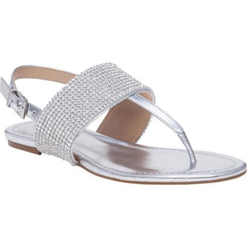 fefe3edaadd21a Shop Women s BCBGeneration Wander Thong Sandal Silver Mirror Metallic -  Free Shipping On Orders Over  45 - Overstock.com - 11784420
