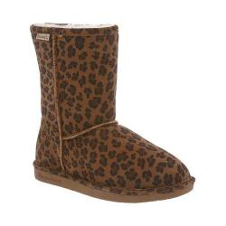 Women's Bearpaw Emma Short Boot Hickory Leopard