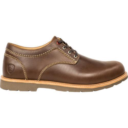 Men's Boston Boot Co. Berkeley Oxford Brown Leather