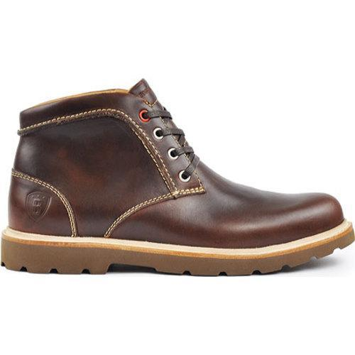 Men's Boston Boot Co. Commonwealth Boot Brown/Nicotine Leather