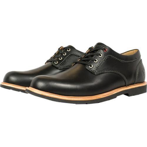 Men's Boston Boot Co. Berkeley Oxford Black Leather - Thumbnail 1