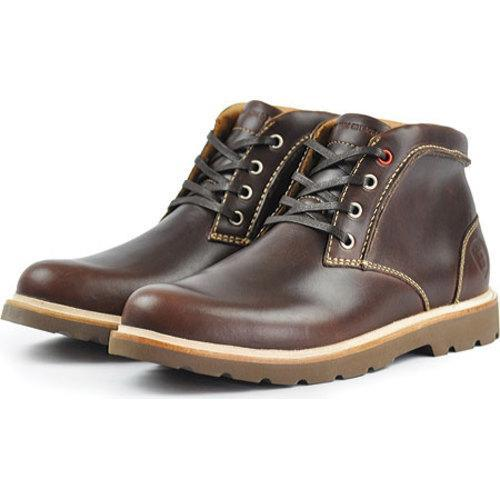 Men's Boston Boot Co. Commonwealth Boot Brown/Nicotine Leather - Thumbnail 1