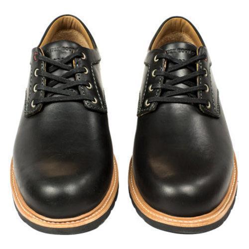 Men's Boston Boot Co. Berkeley Oxford Black Leather - Thumbnail 2