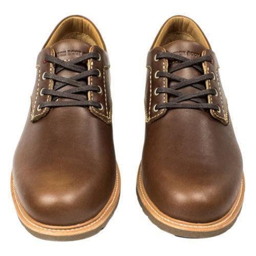 Men's Boston Boot Co. Berkeley Oxford Brown Leather - Thumbnail 2