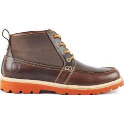 Men's Boston Boot Co. Cambridge Chukka Boot Brown Canvas