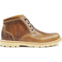 Men's Boston Boot Co. Commonwealth Boot Natural/White Leather