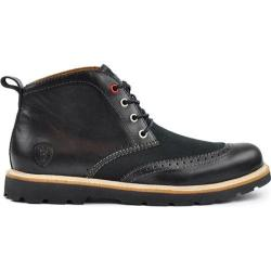 Men's Boston Boot Co. Newbury Chukka Boot Black Leather