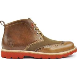 Men's Boston Boot Co. Newbury Chukka Boot Natural Leather
