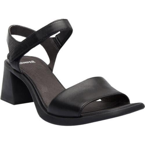 27d34a2669b Shop Women s Camper Karolina Sandal Black Leather - Free Shipping Today -  Overstock - 11784535