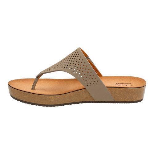 2045d2799 ... Thumbnail Women  x27 s Clarks Aeron Logan Thong Sandal Sage Leather