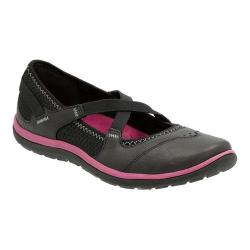 Women's Clarks Aria Mary Jane Black Leather