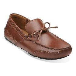 Men's Clarks Ashmont Edge Cognac Smooth Leather
