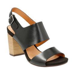 Women's Clarks Banoy Tulia Slingback Black Leather