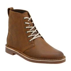 Men's Clarks Bushacre Top Ankle Boot Beeswax Full Grain Leather