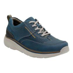 Men's Clarks Charton Mix Sneaker Navy Leather