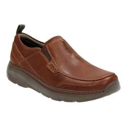 Men's Clarks Charton Step Slip On Brown Leather